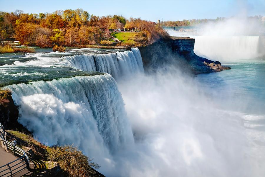 ниагарский водопад. фото