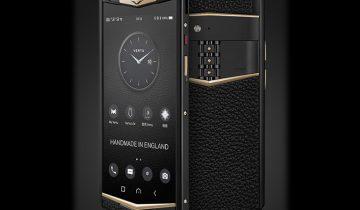 Vertu вернулась с новым смартфоном Aster P по цене от $5170