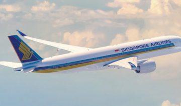 Сингапурский авиалайнер установил рекорд самого длительного перелета в мире