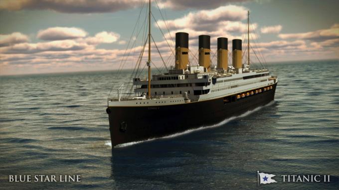 «Титаник II» отправится в первое путешествие в 2022 году по маршруту затонувшего «Титаника»