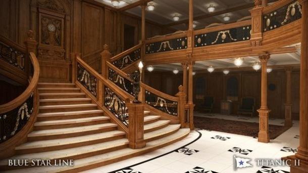 Предполагается, что дизайнеры восстановят интерьер оригинального Титаника