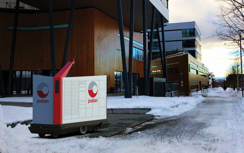 В Норвегии доставку почты поручат роботам